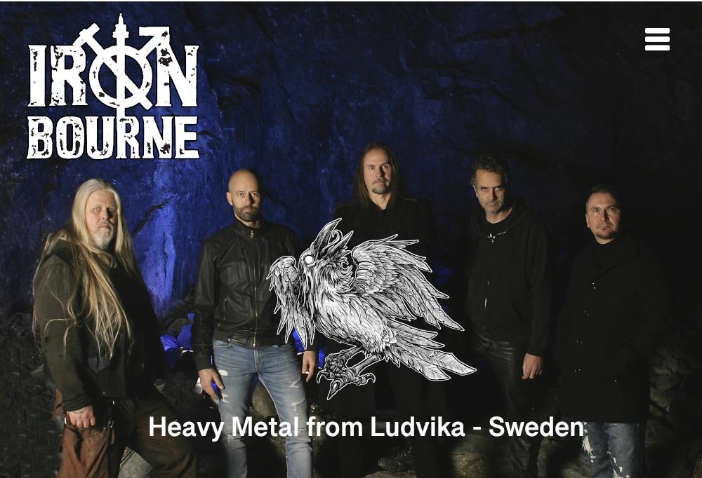 Bilden visar IronBourne - Heavy Metal från Ludvika, Sweden